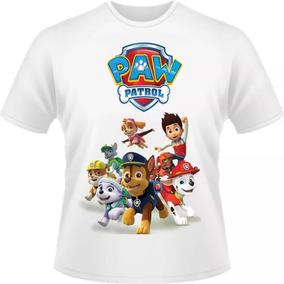 Camiseta Patrulha Canina Infantil Masculino Feminina