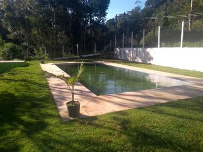 Juquitiba/mini-chácara C/piscina E Casa Nova/ref:04877