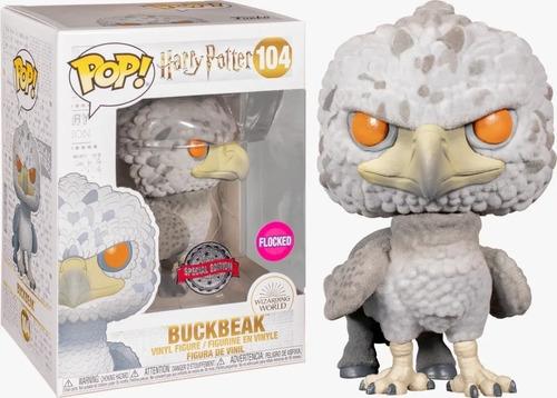 Funko Pop Harry Potter 6 Buckbeak Flocked Special Edit 104