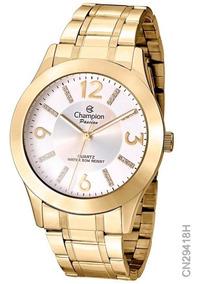 Relógio Champion Fem Passion Cn29418h Dourado Lançamento
