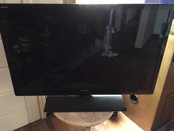 Tv Sharp Lc42 Sv602b Usada Com Defeito Leia Descritivo Abaix