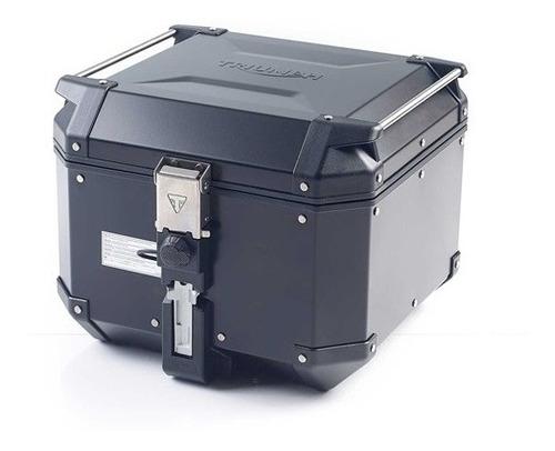 Imagem 1 de 2 de Top Box Expedition Aluminio Preto 42 Litros