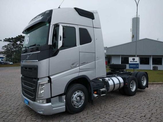 Volvo Fh 500 New, 2016, 6x2 Scania Seminovos Pr 8886