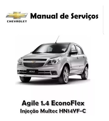 Manual Serviço E Reparação Chevrolet Agile