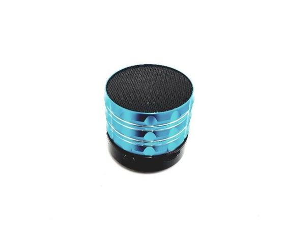 Mini Caixa De Som Portátil Bluetooth S13 Cor Azul