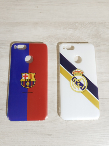 Funda Para Xiaomi Mi A1 Barcelona O Real Madrid Envío Gratis