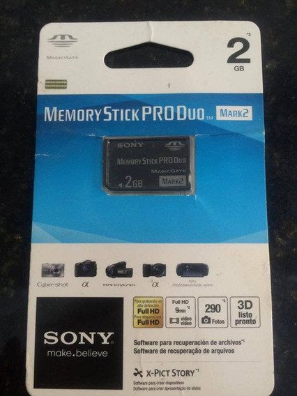 Memory Stick Produo Sony 2gb
