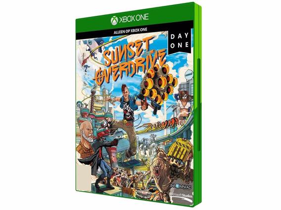 Sunset Overdrive - Xbox One Day One Midia Fisica Lacrado