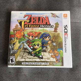 The Legend Of Zelda: Tri Force Heroes Para Nintendo 3ds