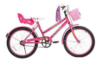 Bicicleta Rodado 20 Paseo Playera Dama Nena Halley 19075