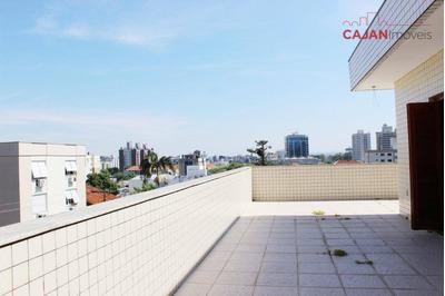 Cobertura Duplex Com 4 Dormitórios E 4 Vagas No Bairro Vila Ipiranga - Co0194