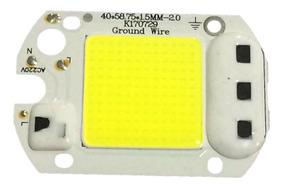 8 Chip Led 50w 6000k Inteligente Funciona Sem Reator 220v