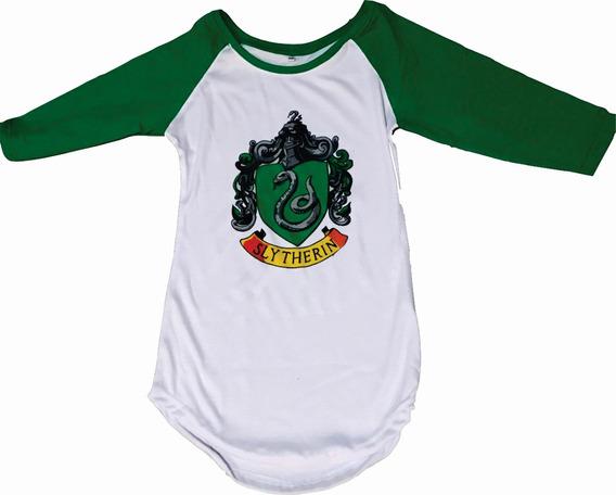 Hogwarts Playera Gryffindor Ravenclaw Slytherin Hufflepuff