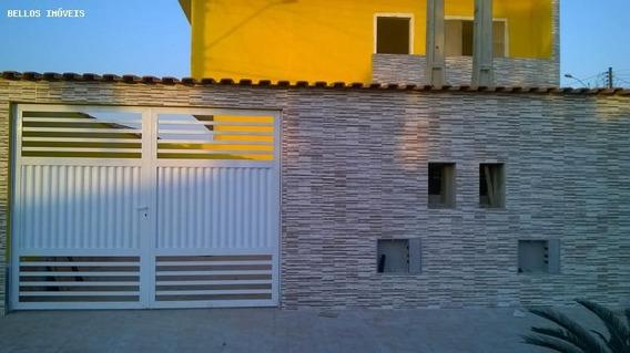 Casa Para Venda Em Itanhaém, Balneário Suarão, 2 Dormitórios, 1 Suíte, 2 Banheiros, 2 Vagas - 273
