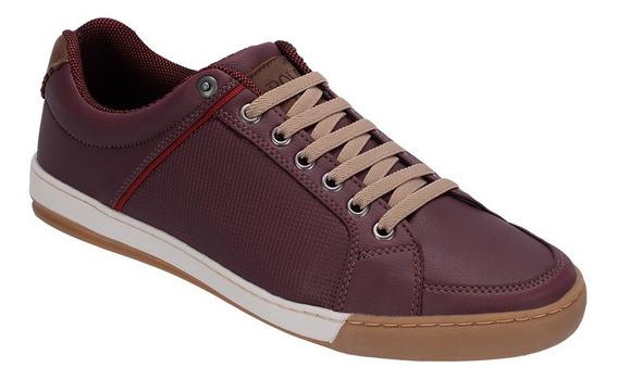 Sapato Masculino Sapatenis Original Couro Ecológico Ref:pl02