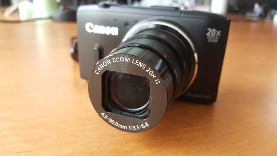 Câmera Digital Canon Powershot Sx280 Hs / Com Gps Integrado!