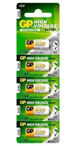 Bateria 12v Alcalina 23a Blister C/ 5 Unid B12va23a-5un Gp