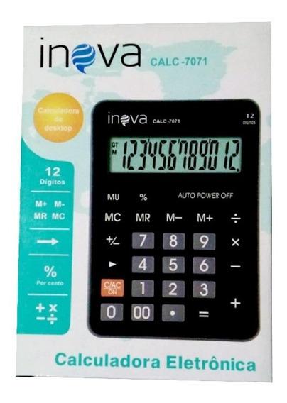 Calculadora Inova Calc-7071 10 Unidades