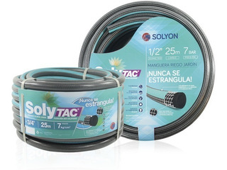 Manguera Anticolapsable Soly Tac 1/2 X 25mts