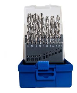 Mechas De Acero Rápido En Juego Lenox Twil 25 Pzas 1 A 13 Mm