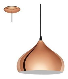 Luminária Pendente Hapton Cobre 1 Luz E27 Premium Eglo