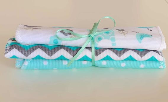 Pack De Babitas Toalla Y Pique Baby Shower Set Nacimiento