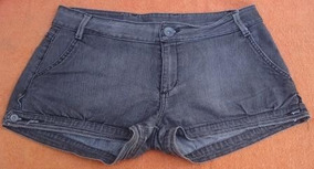 Shorts Curto Dzarm Em Jeans Tam.40 Feminino Lindo!!! (188)