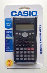 Calculadora Científica Casio Fx-82ms Com 240 Funções - Preto