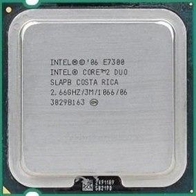 Processador Core 2 Duo E7300 2.66ghz 3mb 1066 Lga 775 ¨