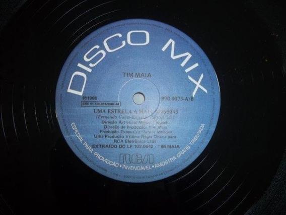 Lp Vinil - Tim Maia - Disco Mix - Uma Estrela A Mais