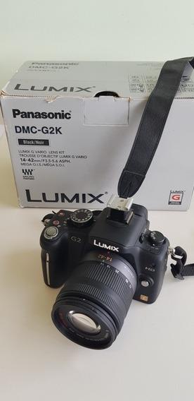 Câmera Fotográfica Panasonic Lumix Dmc G2 K