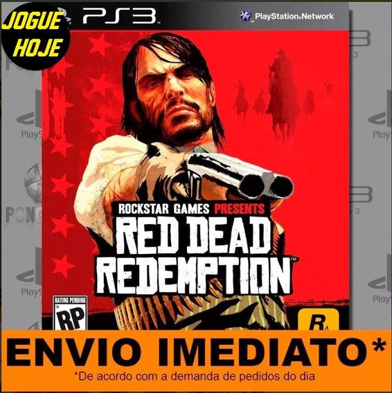 Jogo Ps3 Red Dead Redemption Play 3 Digital Psn Imediato