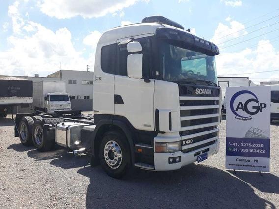 Scania R124 420 6x2 2007