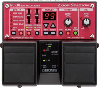 Boss Rc-30 Loopstation 2 Tracks, 3 Hrs. De Grabación
