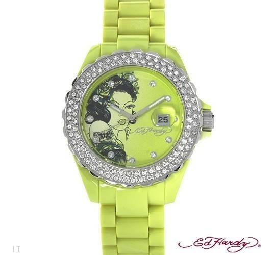 Reloj Ed Hardy Original De Dama 02246512
