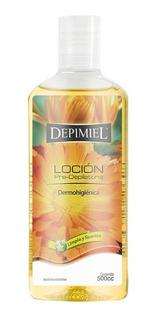 Loción Pre-depilatoria Limpia Y Suaviza X500 Ml Depimiel