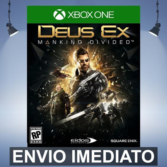 Deus Ex Mankind Divided Xbox One Código 25 Dígitos