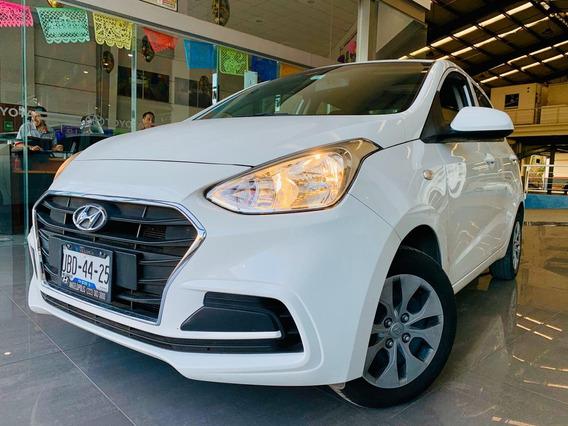 Hyundai Grand I10 Gl Mid Motor 1.2 2018 Blanco 4 Puertas