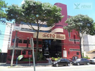 Conjunto Comercial Para Locação, Centro Cívico, Curitiba. - Cj0009