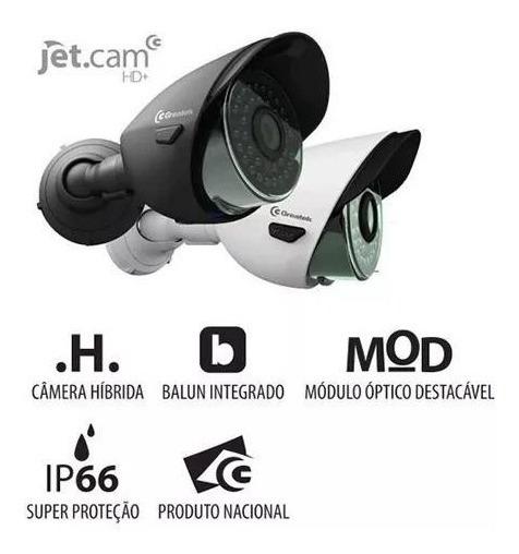 Kit 02 Câmera Hd Infra Bullet Ahd 720p 1mp Lente 2,8mm