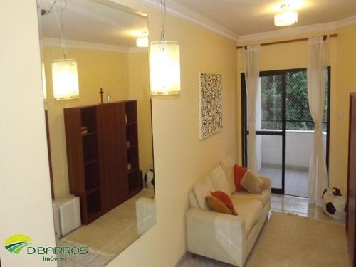 Imagem 1 de 6 de Lindo Apartamento Com Sala Em 2 Ambientes, Sacada, Banheiro Social Completo, 2 Dormitórios Sendo 1 Suíte (todos Com Armários Planejados), Cozinha Com - 4295 - 33877466