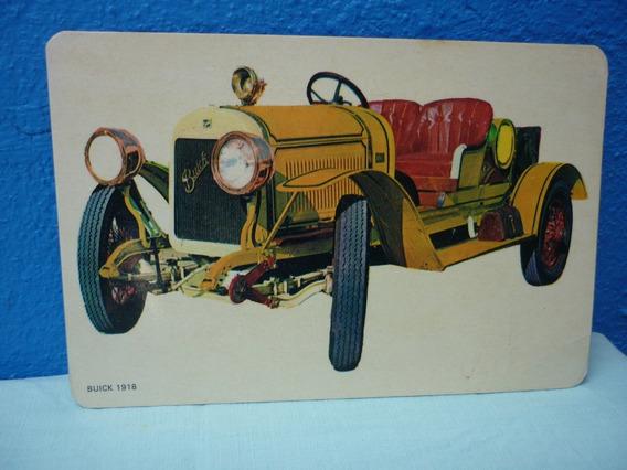 Tarjeta De Coche Antiguo Buick 1918.