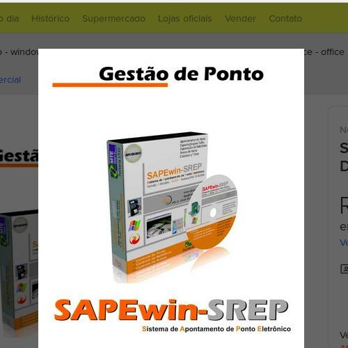 Imagem 1 de 4 de Software Sapewin De Tratamento De Ponto -licença De Vitlícia
