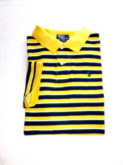 Polo Ralph Lauren Amarilla A Rayas