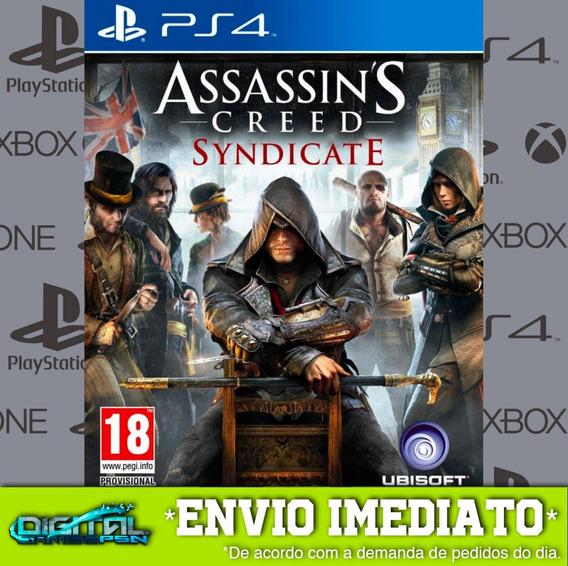 Assassins Creed Syndicate Ps4 Psn Jogo Digital Envio Rapido