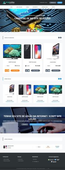 Script Site De Leilão Centavos Responsivo. Leilão Top!