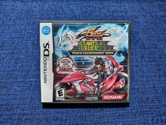 Yu-gi-oh! Stardust 2009 Nintendo Ds 3ds Completo + Card
