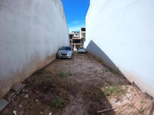Terreno, 125 M² - Venda Por R$ 255.000,00 Ou Aluguel Por R$ 1.200,00/mês - Jardim Milena - Santo André/sp - Te1077
