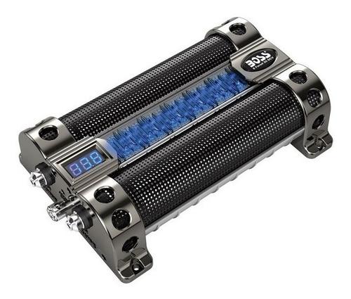 Imagen 1 de 5 de Capacitor Boss 8 Faradios Con Led Nueva Generacion - Envios!