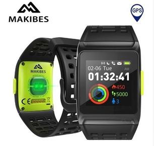 Relógio Makibes Br1 Poliesportiva Gps/strava 12x Sem Juros
